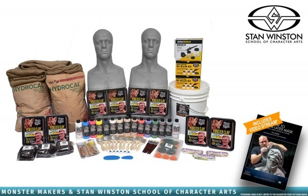 Stan Winston Super Deluxe Latex Mask Making Kit