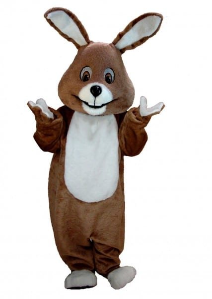 Buy Brown Bunny Mascot Rabbit Costume T0224 Mask Us From Costume