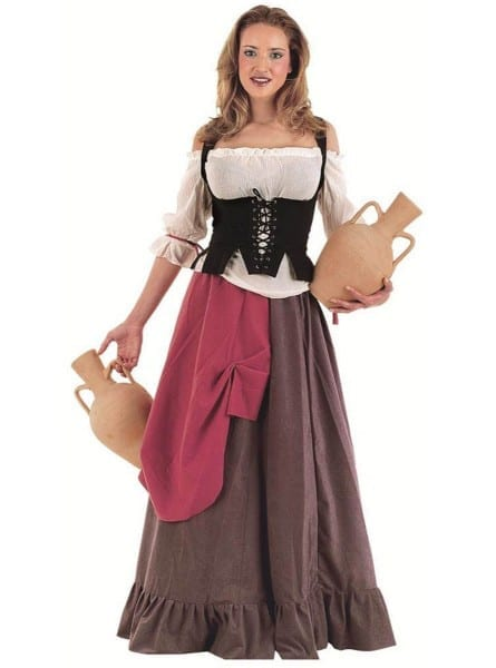 Tavern Maiden Eliana Adult Costume  Fast Delivery