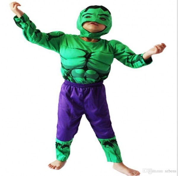 The Hulk Muscle Costume Boy Halloween Costume For Boy The Avengers