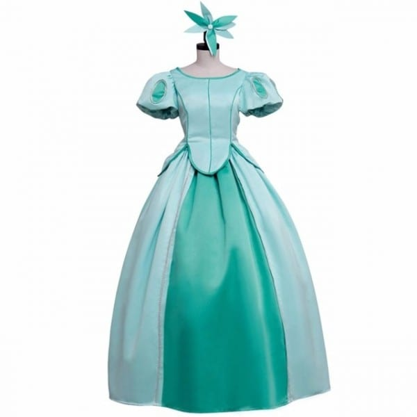 The Little Mermaid Princess Ariel Blue Medieval Dress Adult