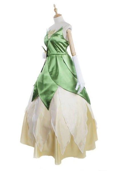 The Princess And The Frog Princess Tiana Cosplay Dress Tiana