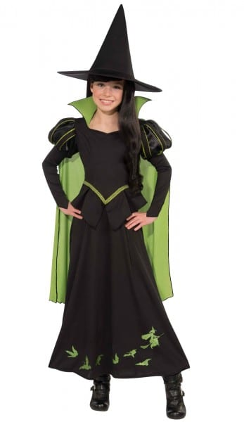The Wizard Of Oz Wicked Witch Of The West Child Girl's Costume