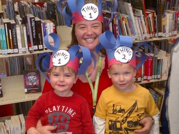 Kids @ Sylvan Lake Library  Dr Seuss Storytime  Miss Corrie
