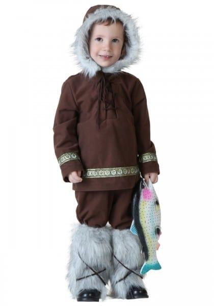 Toddler Eskimo Boy Costume