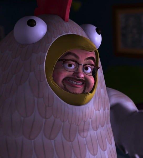Toy Story 2 Chicken Guy