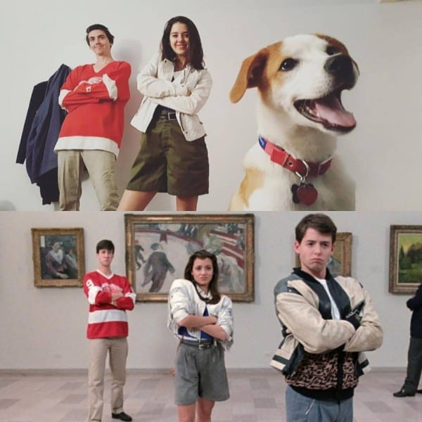 I Named My New Dog Ferris After Ferris Bueller, We Nailed Our