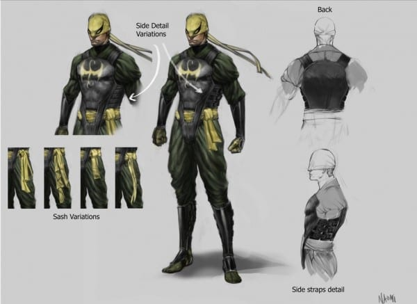 No Spoilers] A Version Of Iron Fist Costume I'd Like To See In