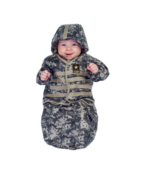 Army Little Us Baby Costume