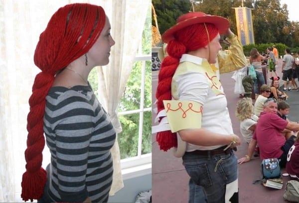 Jubilation Studios  Jessie's Red Yarn Wig