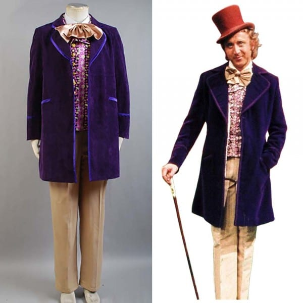 Willy Wonka And The Chocolate Factory 1971 Costume Coat Vest Bow