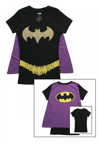 Batman T Shirt With Cape