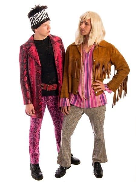Zoolander And Hansel Pair Costume