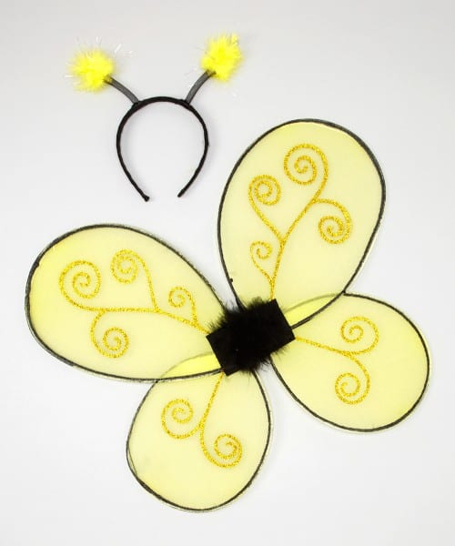 Creative Education Of Canada Bumble Bee Costume Wings Set
