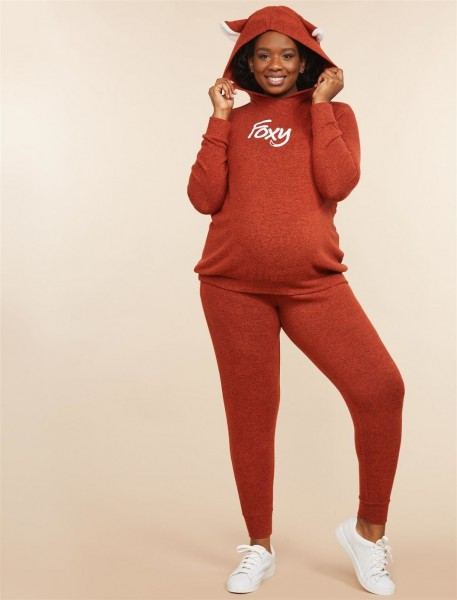 Plus Size Foxy Mama Maternity Halloween Costume