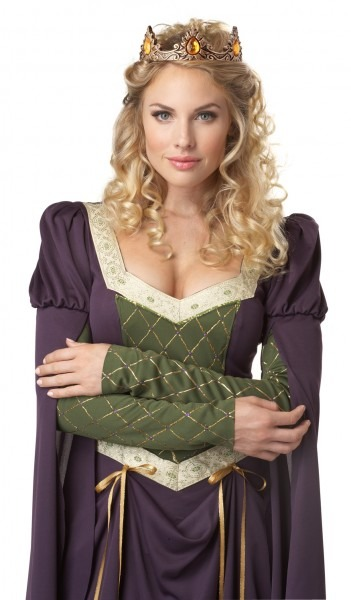Women's Medieval Times Lady In Waiting Noble Halloween Costume