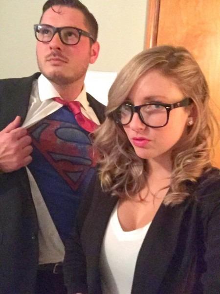 Clark Kent And Lois Lane Halloween Costume Superman And Lois Lane Best Party Supply