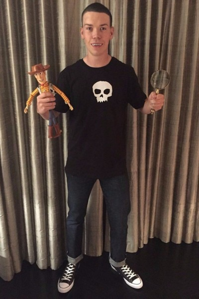 The Best Part About Will Poulter's Toy Story Halloween Costume Is