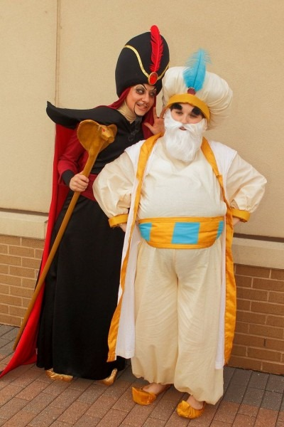 Aladdin Jafar Costume Kid