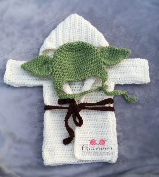 Baby Yoda Outfit , Yoda Baby Costume, Baby Yoda Halloween Costume