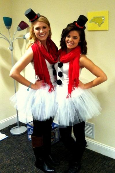 Do You Wanna Build A Snowman  Diy Snowman Costume
