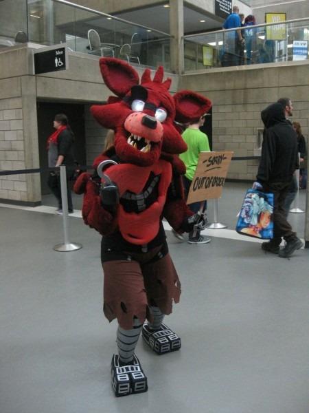 Foxy The Pirate Costume