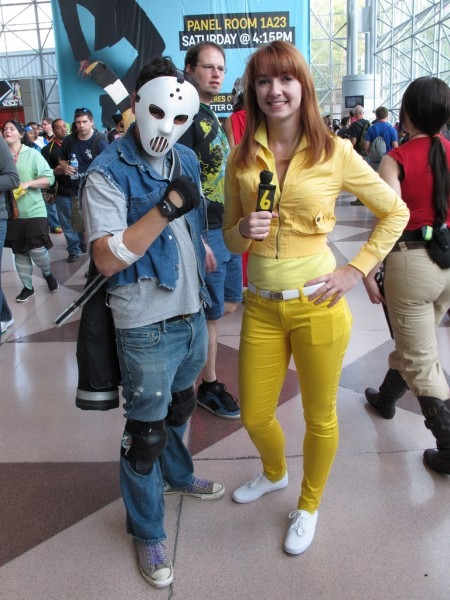 Casey Jones, April O'neil