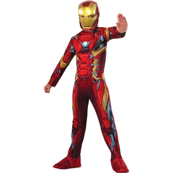 Marvel Avengers Iron Man Classic Boys Costume