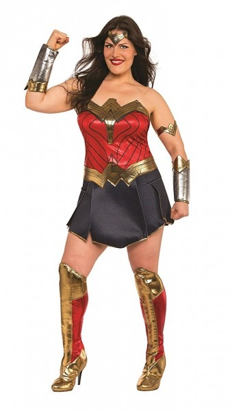 Toynk  Justice League Movie Wonder Woman Deluxe Plus Size Costume