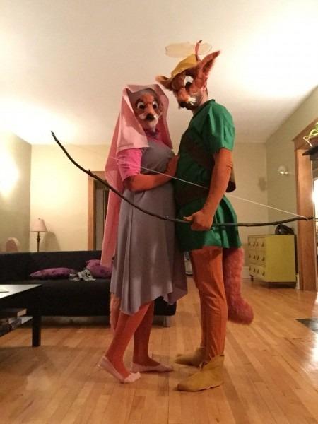 Robin Hood And Maid Marian Fox Halloween Costumes   Disney