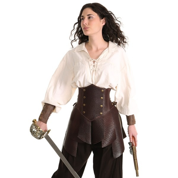 Amazon Battle Skirt – Ravenswood Leather Clothing For Renaissance