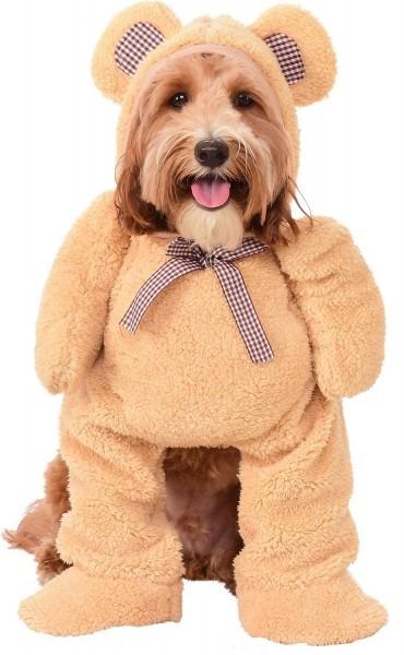 Rubie's Costume Company Walking Teddy Bear Dog & Cat Costume, X