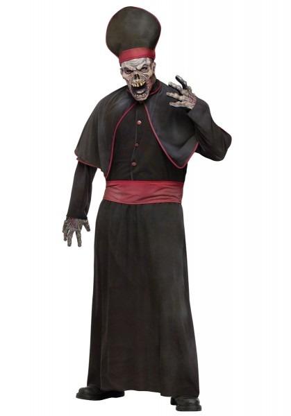 High Priest Zombie Costume, Horror Fancy Dress