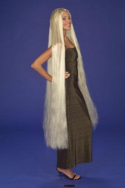 Lady Godiva Extra Long Blonde Adult Costume Wig