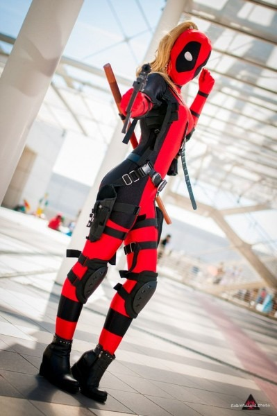 That Was Cool And Explody  Lady Deadpool By Ghiandaiacosplay