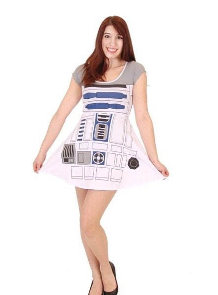 Star Wars I Am R2d2 Juniors Costume Skater Dress