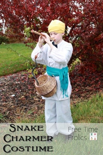No Sew} Snake Charmer Costume, How To