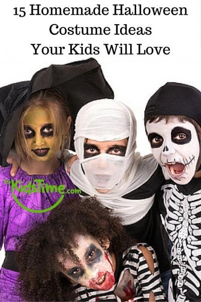 15 Homemade Halloween Costume Ideas Your Kids Will Love