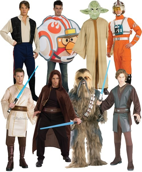 Star Wars Mens Fancy Dress Halloween Space Sci