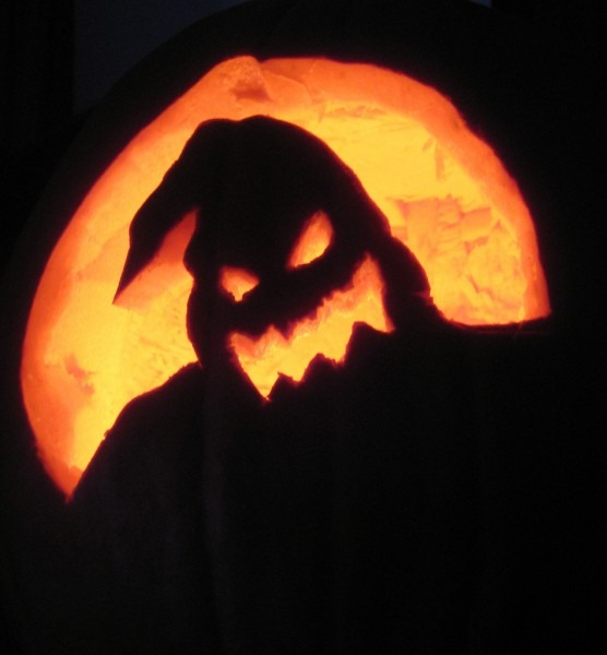 Halloween ~ Staggering Oogie Boogie Pumpkin Stencil Halloween