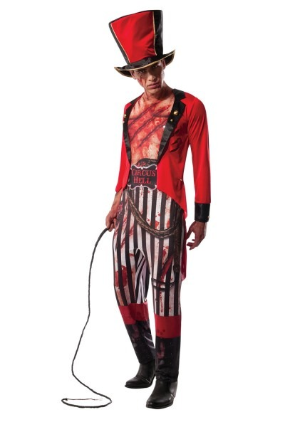 Rubies Adults Mauled Ringmaster Halloween Circus Lion Tamer Fancy