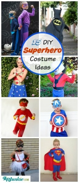 20+ Homemade Superhero Costumes [free Patterns] – Tip Junkie