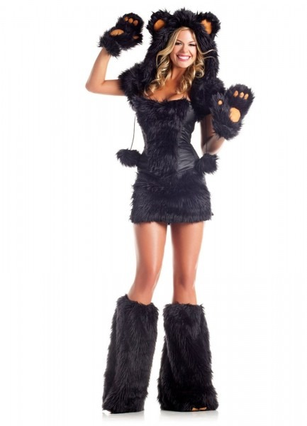 Black Bear Deluxe Adult Costume From Buycostumes Com