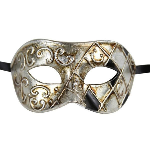 Luxury Mask Mens Venetian Party Masquerade Mask
