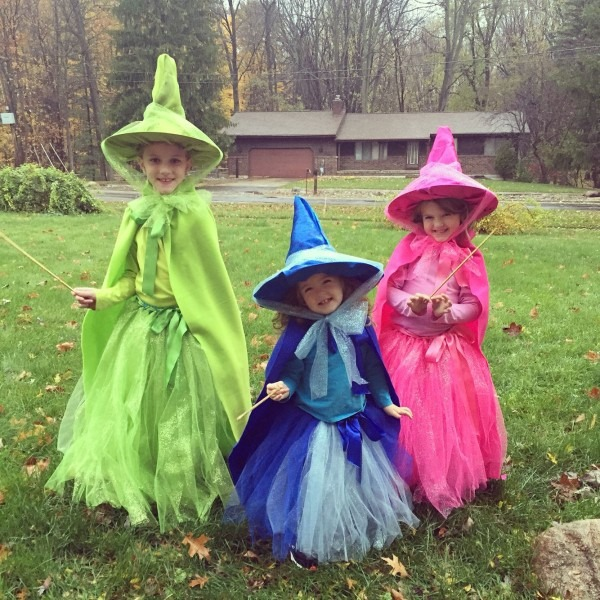 Diy Flora, Fauna And Merryweather  Our Very Own Fairy Godmothers