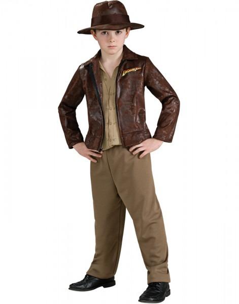 Indiana Jones With Jacket Deluxe Child Halloween Costume