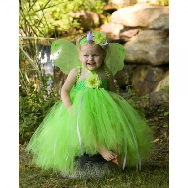 Tinkerbell Pixie Dust Tutu Fairy Costume
