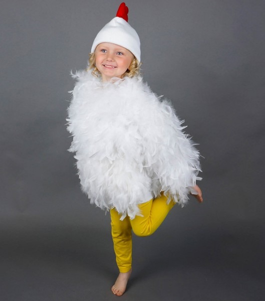 How To Make A Cute Chicken Costume
