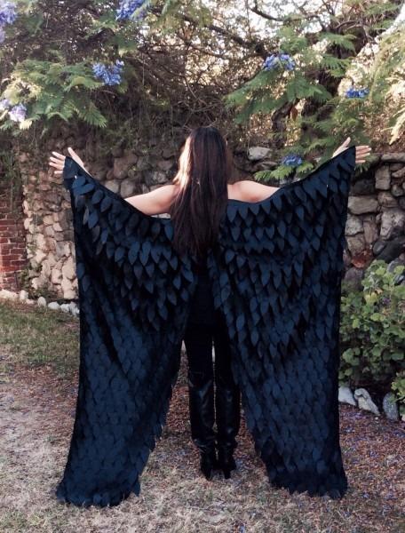 Maleficent Costume Wings, Crow Wings, Raven Wings, Black Wings
