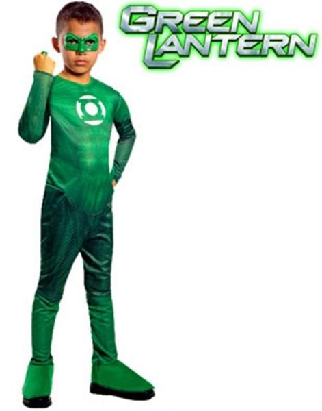 Boys Green Lantern Hal Jordan Super Hero Costume